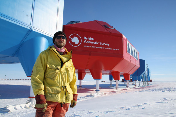 Proud Halley VI Project Manager - Karl Tuplin