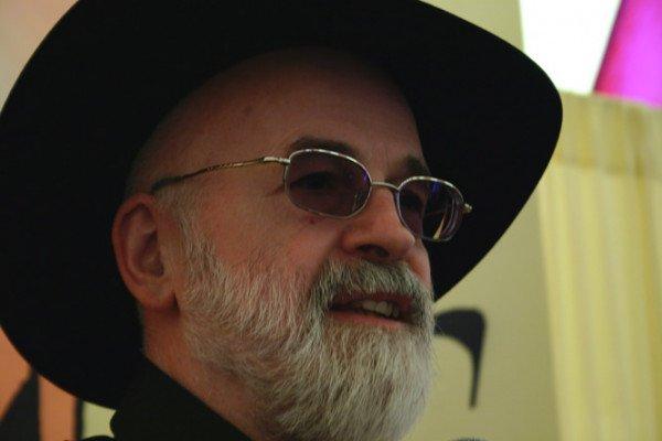 Sir Terry Pratchett at the Elf Fantasy Fair in the Netherlands