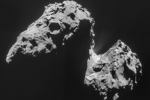 Comet 67P on 17 November – NavCam