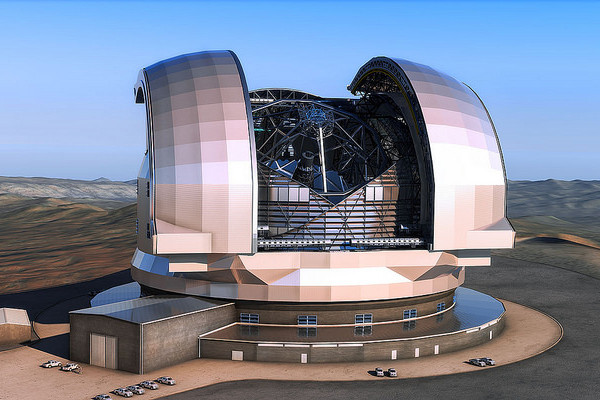 Artist's Impression of the Extremely Large Telescope