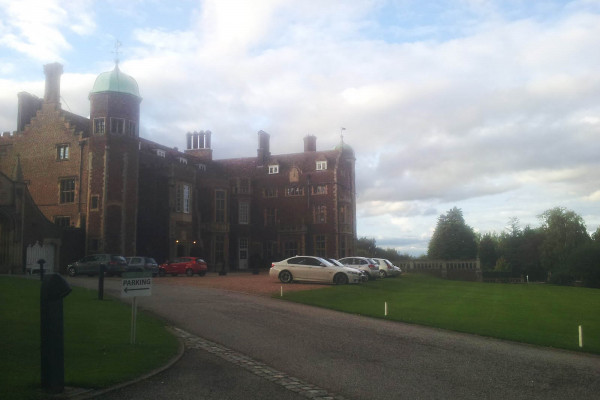 The current base of operations - Madingley Hall