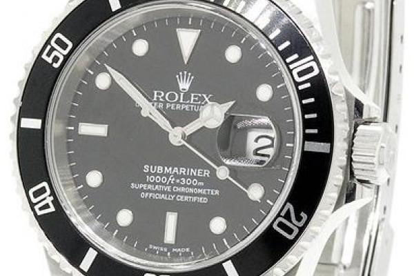 A Rolex submariner watch