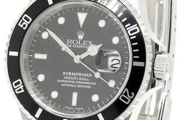A Rolex submariner watch