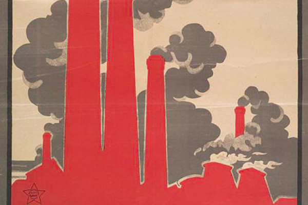 Smoke of chimneys is the breath of Soviet Russia - Before we were aware of the current issues.