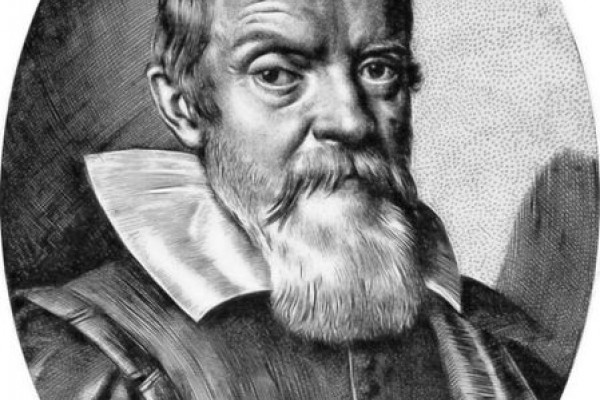 Galileo by Leoni - engraving