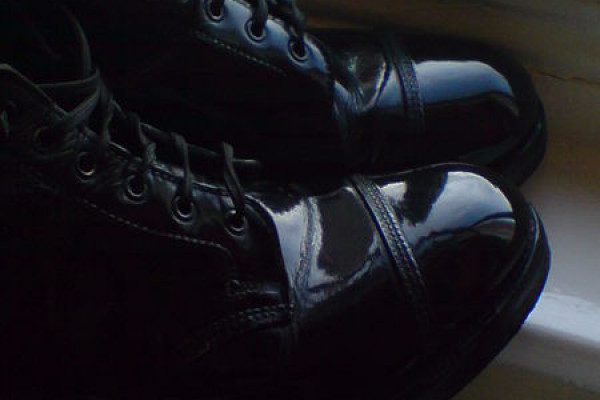 spit polished boots