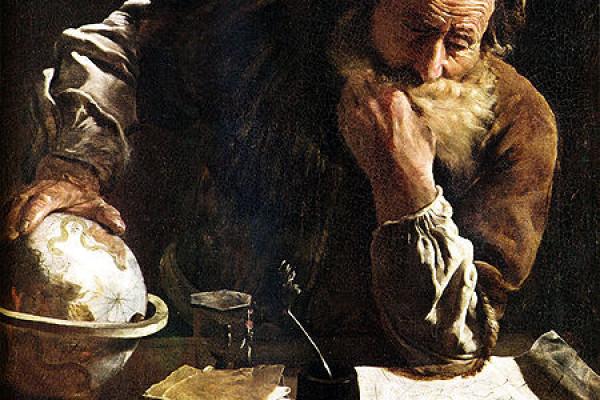Archimedes - a portrait by Domenico Fetti