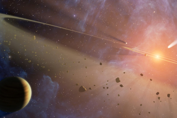 Epsilon Eridani (NASA, Spitzer, 10/27/08)