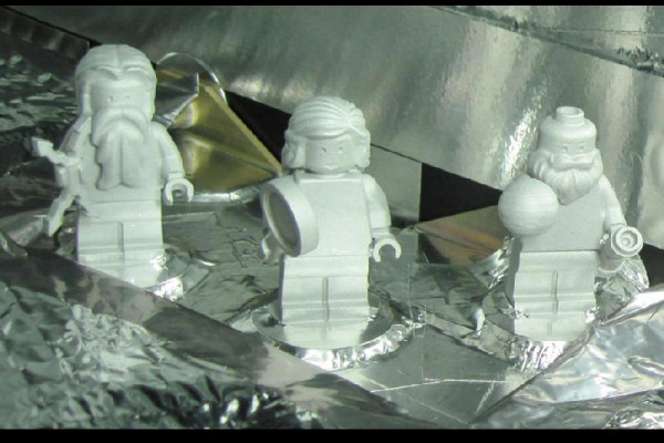 Lego men on the way to jupiter