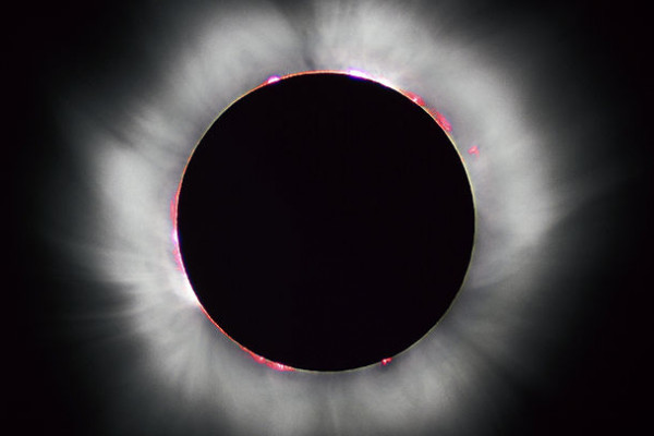 Total Solar eclipse 1999 in France