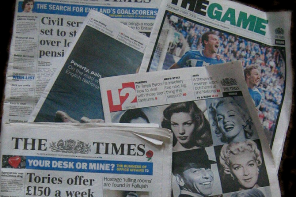 British newspapers