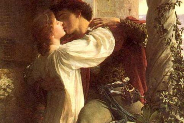 Sir Frank Dicksee's Romeo and Juliet