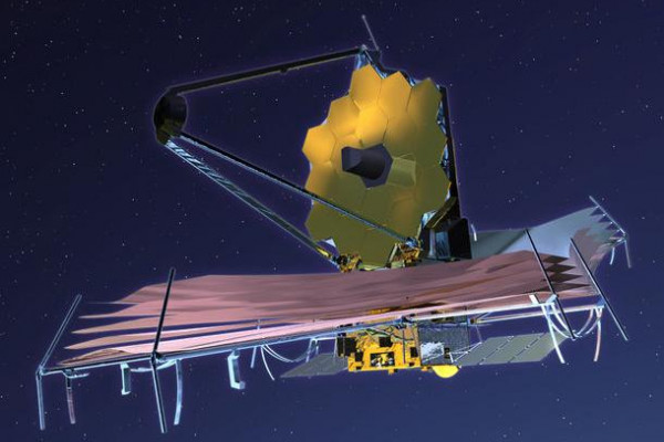 The propsed James Webb Space Telescope to supercede the Hubble Space Telescope