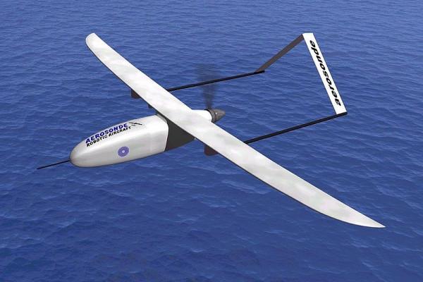 AEROSONDE UAV, Atlantic 1998