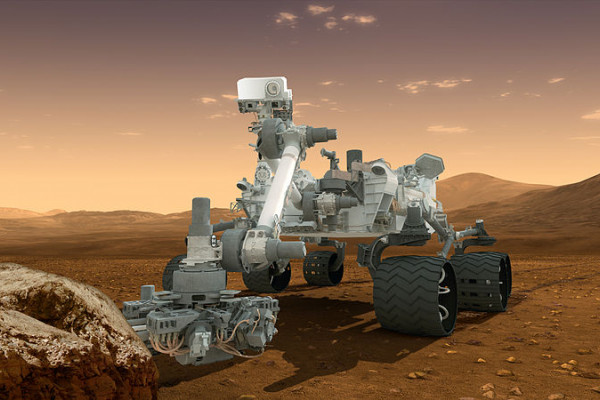 The Curiosity rover
