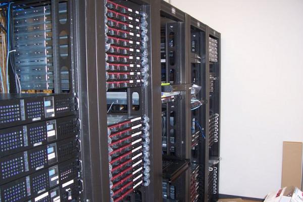 Wikimedia Servers Front, Tampa, Florida, USA