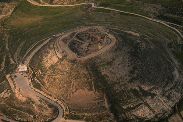The site of Herodium