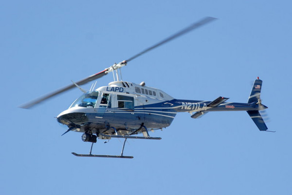 Los Angeles Police Department (LAPD) Bell 206 Jetranger helicopter