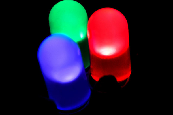 Red, Green, and Blue LEDs