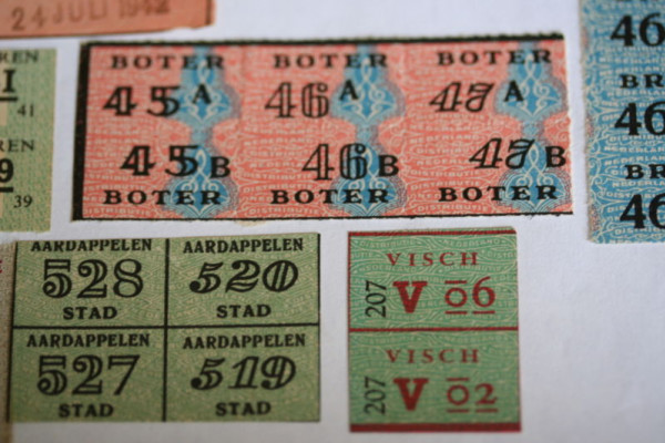 Dutch ration cards