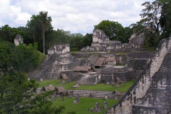 North Acropolis, Tikal, Guatemala.
