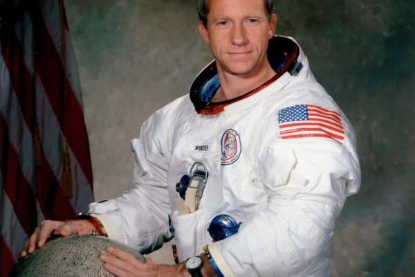 Apollo 15 Command Module Pilot Al Worden.
