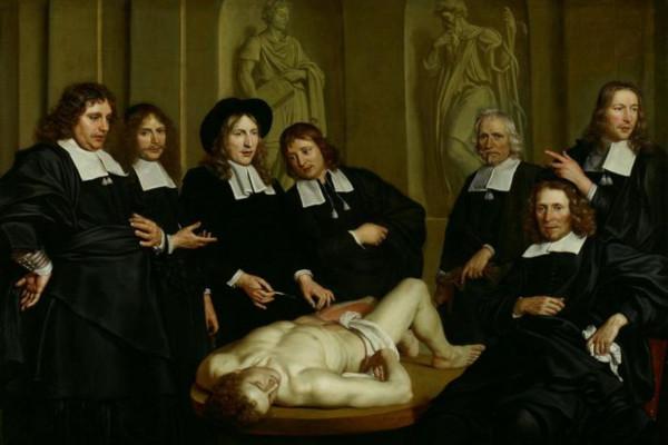 Anatomy Lesson by Prof. Frederik Ruysch