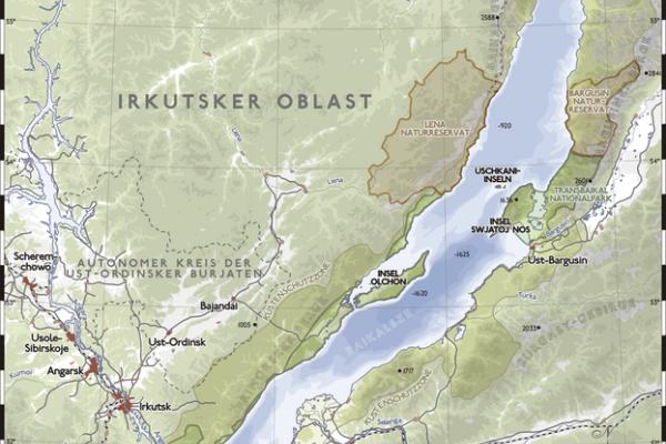 Baikal map