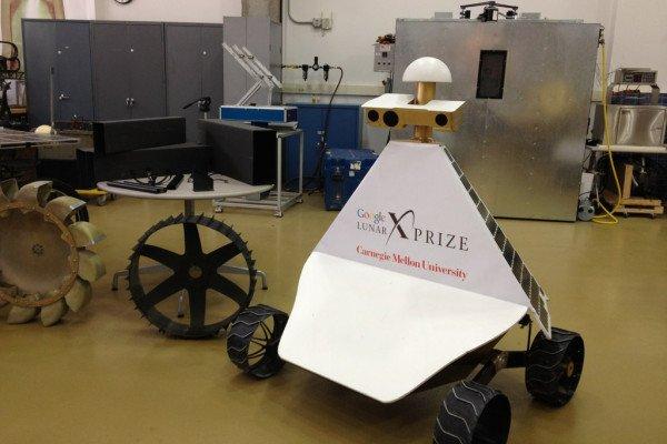 Carnegie Mellon University Google Lunar X-Prize Moon Rover