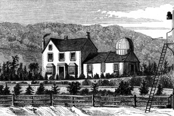 Alongside the house the caption should read: Richard Carrington's observatory at Redhill.