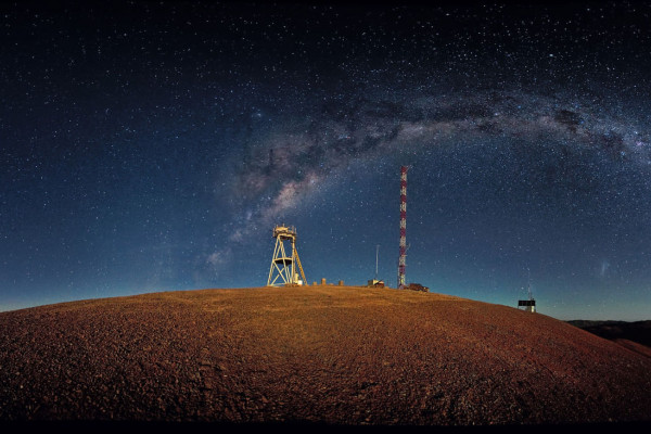 Cerro Armazones, the chosen site for the planned European Extremely Large Telescope (E-ELT)