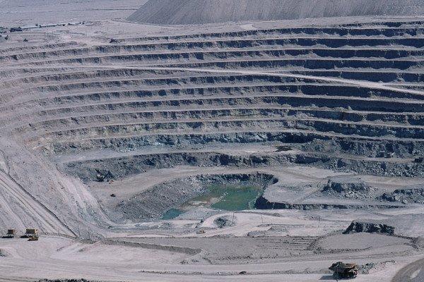 Chuquicamata copper mine , Chile
