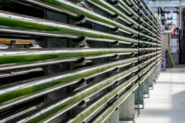 Future biofuels could be produced by microbe farms using bioreactors.