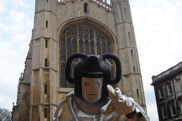 Cybermen at the Cambridge Science Festival
