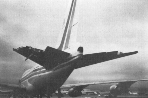 Damaged China Flight 006