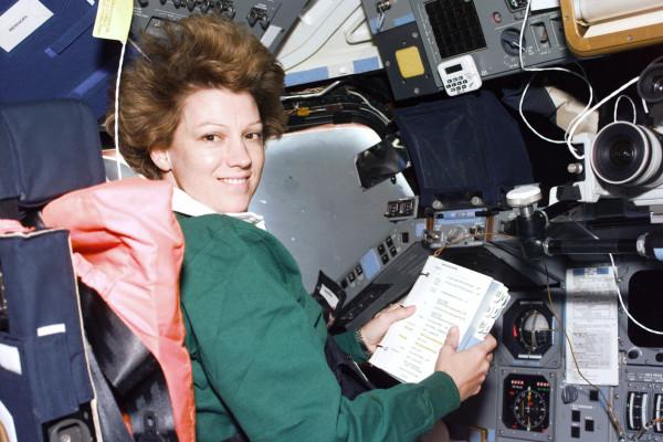 Astronaut Eileen Collins