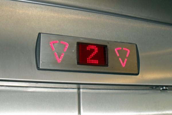 LED elevator floor indicator