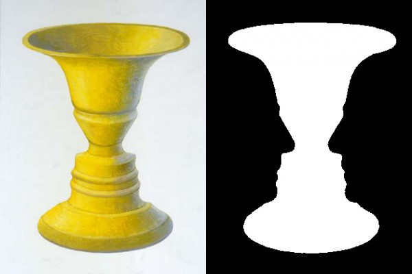 Rubin Vase: Face-Vase Illusion