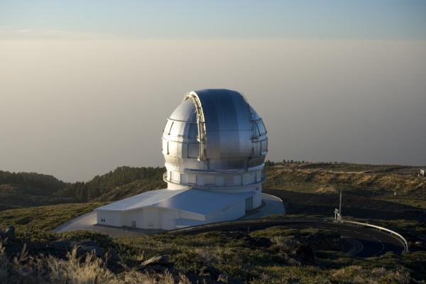 The Gran Telescopio at Roque de los Muchachos Observatory, La Palma, Canary Islands Date