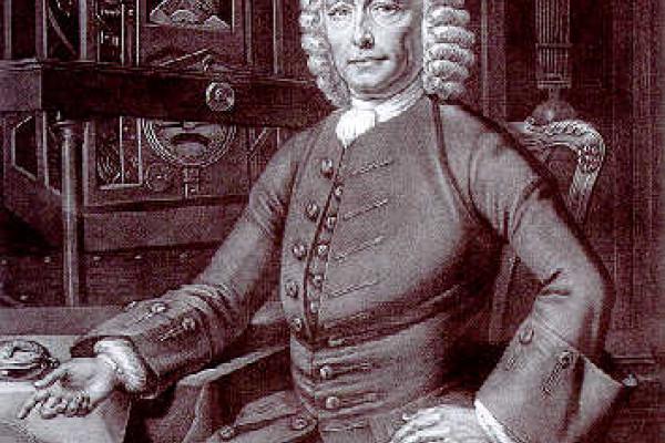 Portrait of John Harrison (1693-1776), English clockmaker and Longitude Prize winner