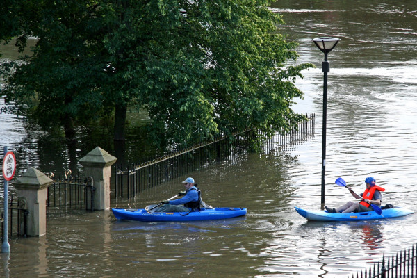 Floods in York