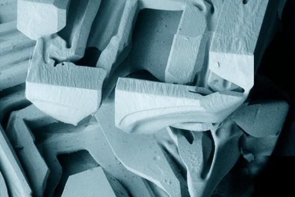 Low Temperature Ice crystals
