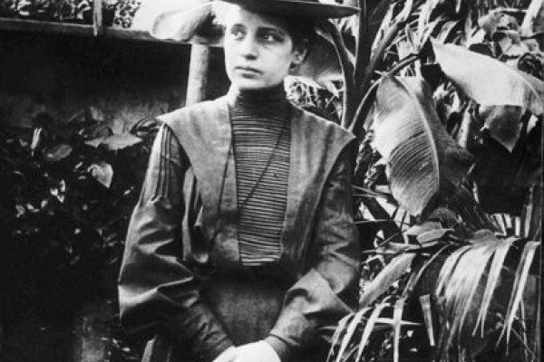 Lise Meitner around 1900