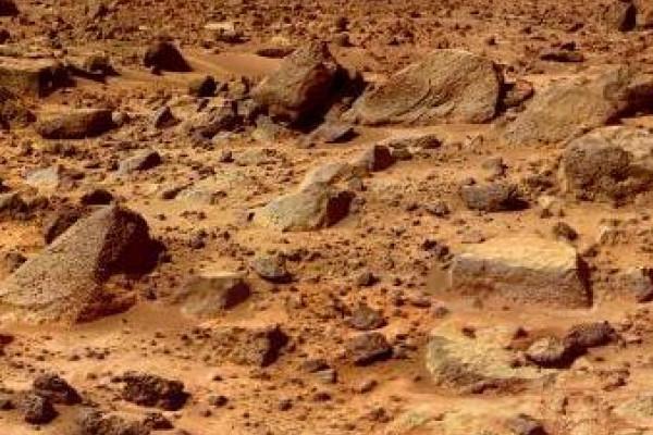 Mars rocks