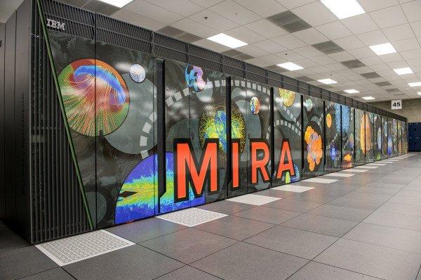 The supercomputer Mira