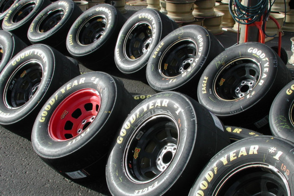 Lots and lots of tyres