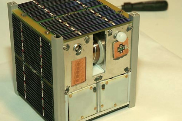 Norwegian student satellite NCUBE2 ready for shipment to the Netherlands for integration with the ESA student satellite SSETI-Express.