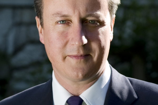 David Cameron's official portrait on the 10 Downing Street website