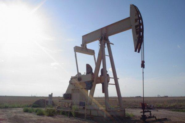 An Oil Well in Texas