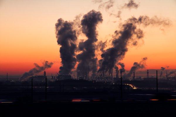 Industries causing air pollution